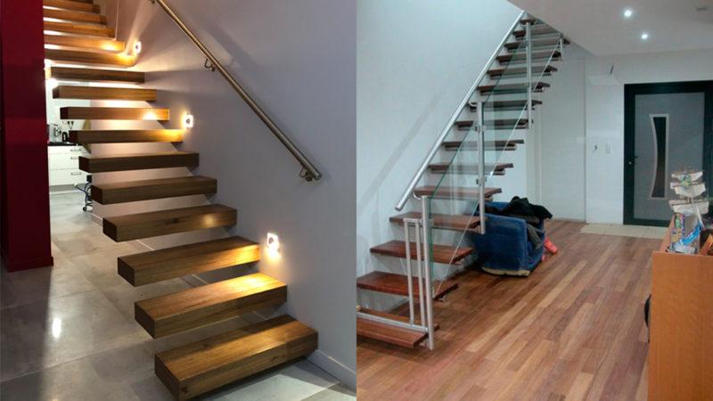 Marches d'escalier en Angélique