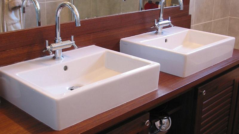 Salle de bains en Angélique