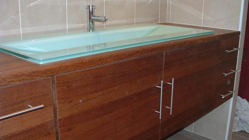 Salle de bains en Coeur Dehors